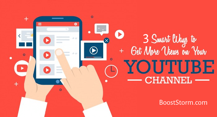 3 smart ways to boost YouTube Views